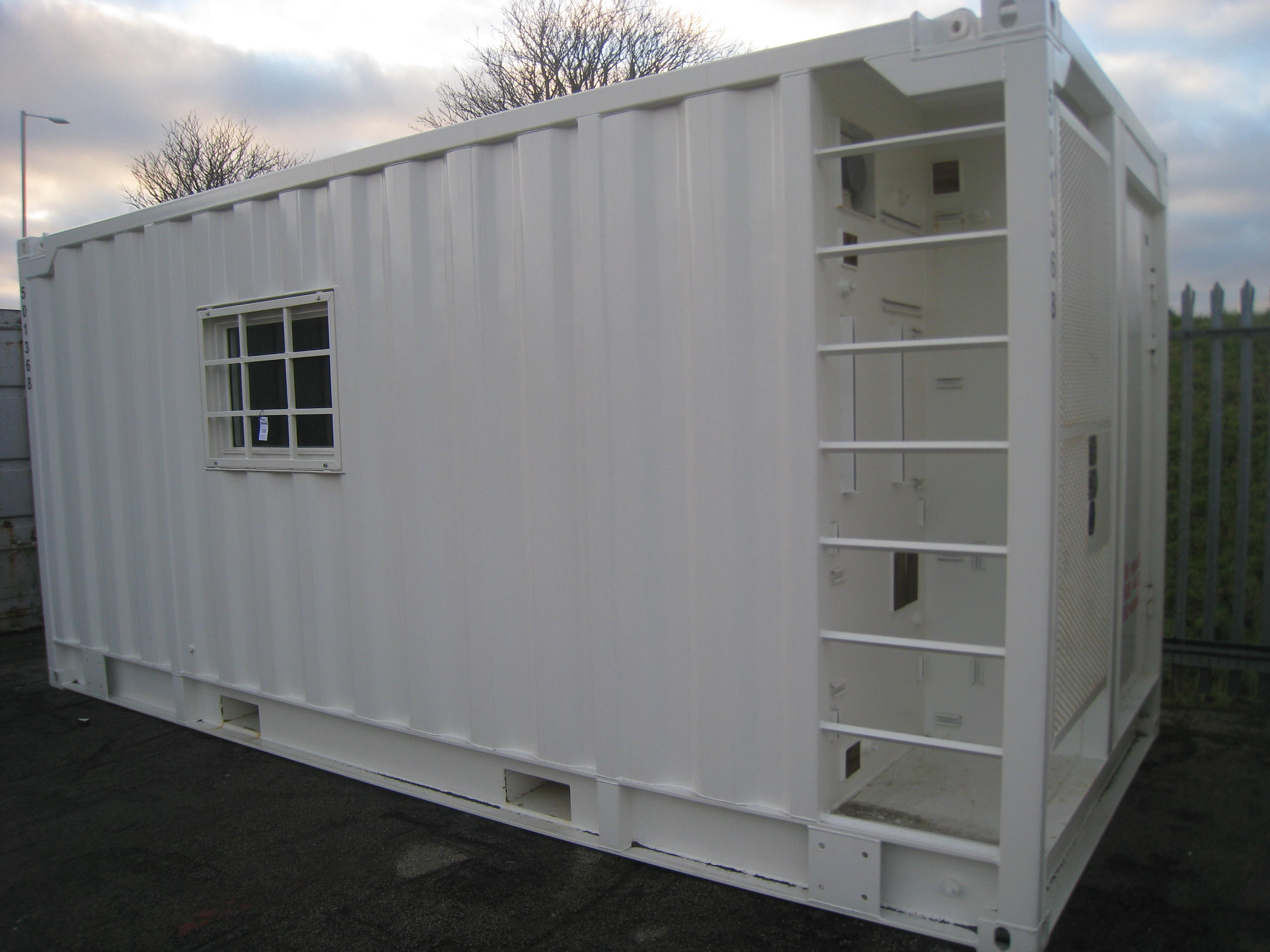 Labtech type a60 dnv lined and insulated office unit for Insulated office