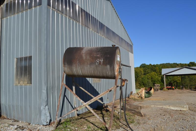 Lot 84 - 350 GALLON GAS TANK