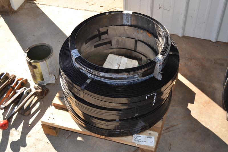 Lot 7 - 4 ROLLS OF STEEL BANDING