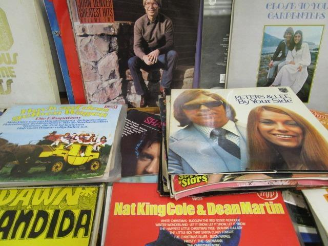 Lot 4 - A collection of easy listening and country music LPs to include Dawn Candida, Peters & Lee, The