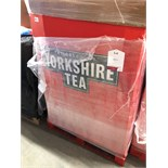 Pallet of Yorkshire Tea Bags Approx 55,000 Tea Bags