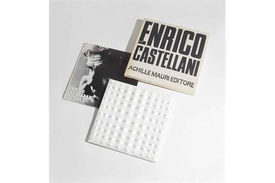 Enrico Castellani Castelmassa 1930 Livre Objet Livre Objet