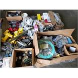 Pallet of assorted parts.