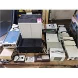 Pallet of assorted test equipment.