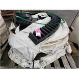 Pallet of rubber conveyor.