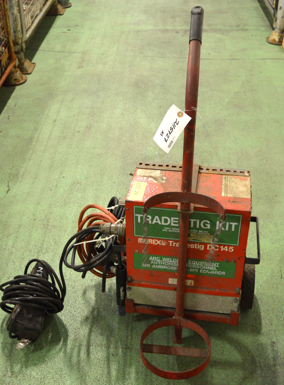 Lot 29 - Murex Trades Tig Kit Portable Welder DC145.