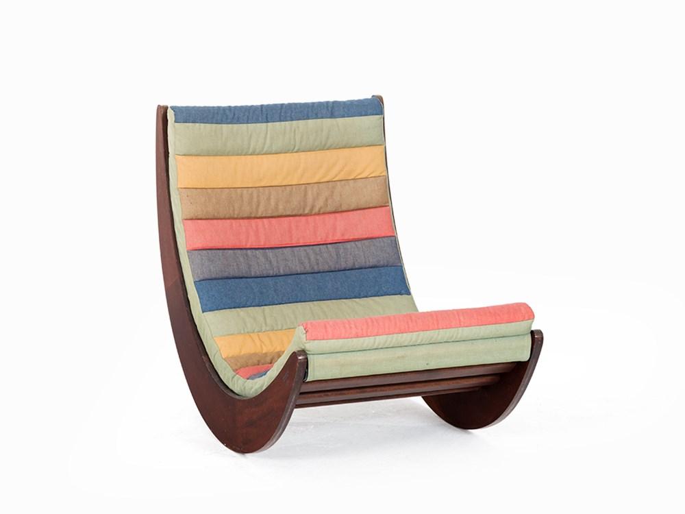 verner panton relaxer 2 chair rosenthal germany 1974 wood