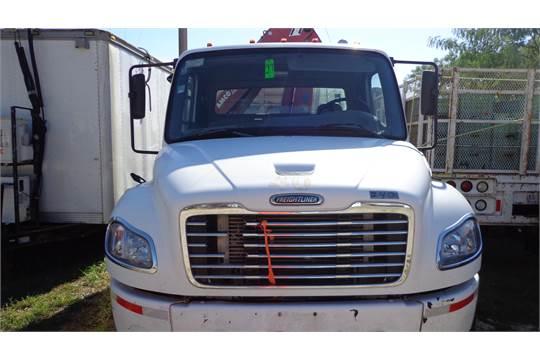 2008 freightliner flat bed truck mercedes benz diesel for Mercedes benz diesel truck engines