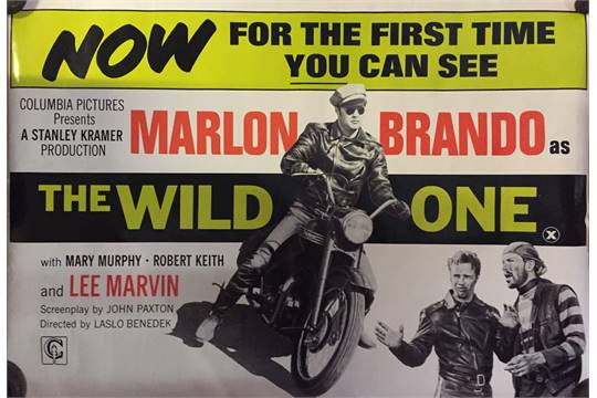 The Wild One film poster, Stanley Kramer production starring ...