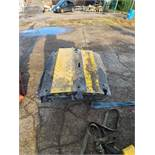 Temporary Road Ramp To Cover Leads and Pipes