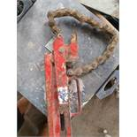 Large drainage pipe cutter