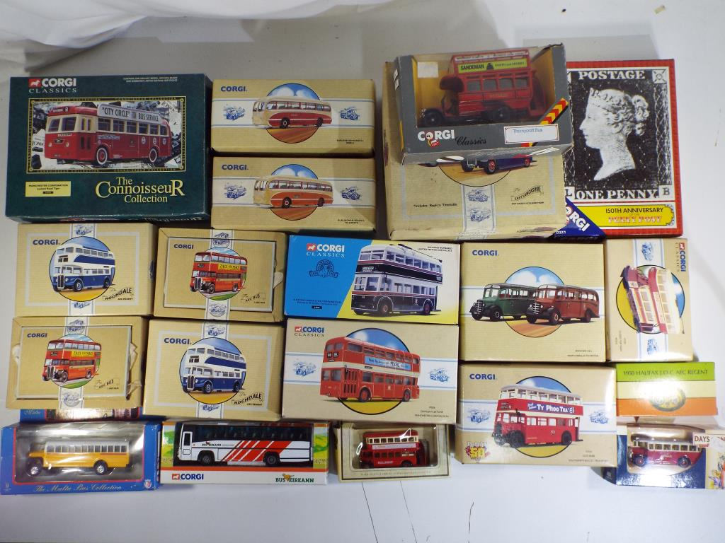 Lot 12 - Corgi and Others - twenty diecast vehicles in original boxes comprising 97173, 97174,