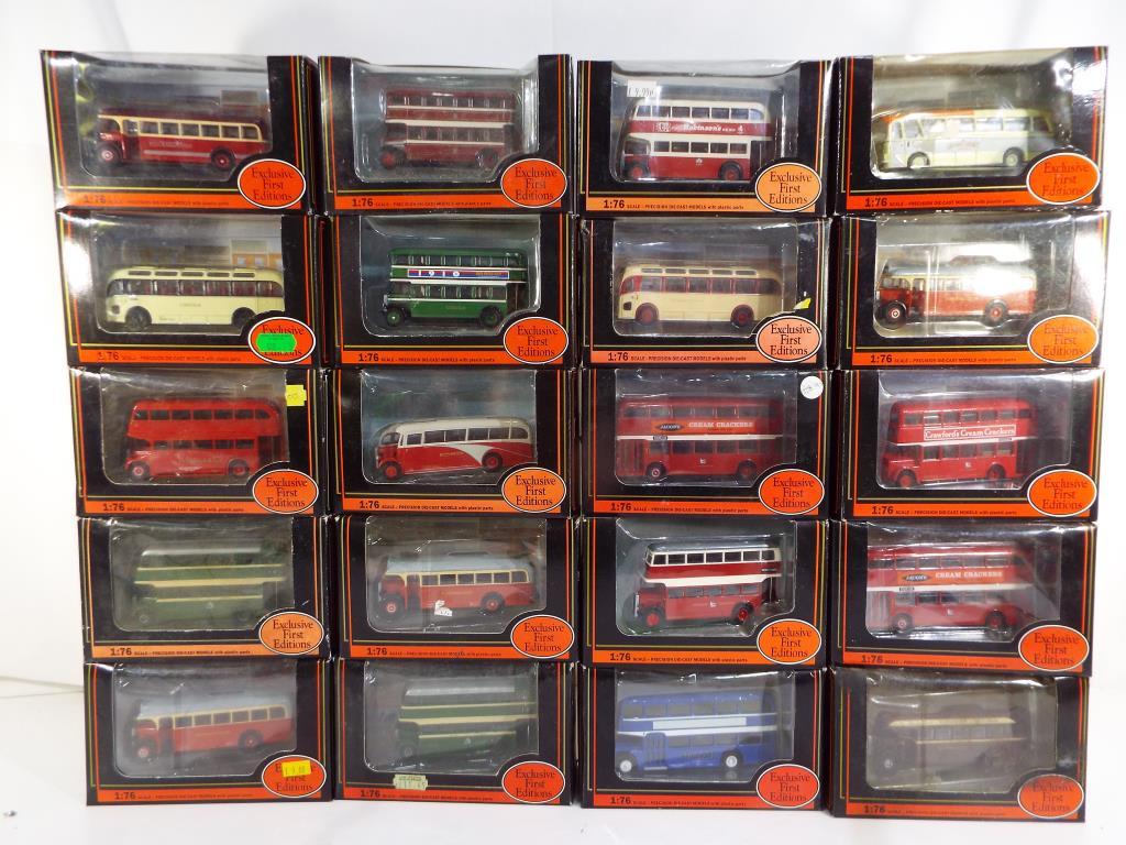 Lot 5 - EFE's - twenty diecast 1:76 scale vehicles in original window boxes comprising 27302, 16202, 26403,
