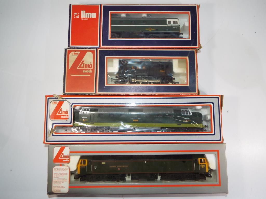 Lot 31 - Model Railways - four Limo OO gauge diesels in original boxes comprising #205109M, #5115,