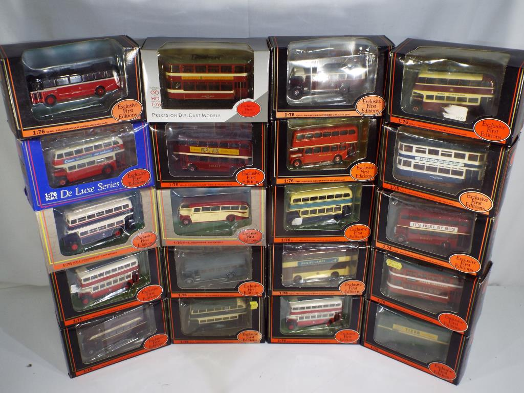 Lot 4 - Exclusive First Editions - twenty diecast vehicles in 1:76 scale with original boxes comrprising