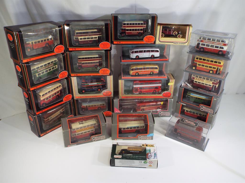 Lot 6 - EFE's and Corgi - twenty three diecast vehicles in original boxes comprising 16504, 18402,