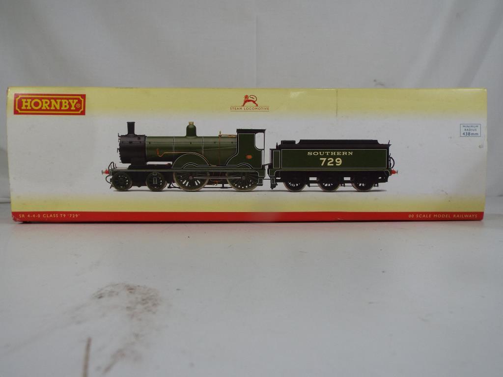 Lot 44 - Model Railways - a Hornby OO gauge Southern Region 4-4-0 class T9 steam locomotive in original box,