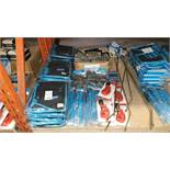 MIXED SILVERLINE TOOLS LOT CONTAINING ADJUSTABLE TOOLS JACKET, LONG ARM RIVETERS, TELESCOPIC PIPE