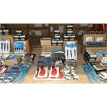 MIXED SILVERLINE TOOLS LOT CONTAINING SCREWS, TELESCOPIC PIPE CUTTERS, PHILIPS CR-V SCREWDRIVER