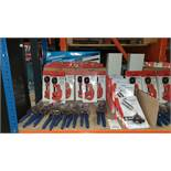 MIXED SILVERLINE TOOL LOT CONTAINING TELESCOPIC PIPE CUTTERS, POWER SNIPS, BUTANE CARTRIDGE BLOW