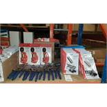MIXED SILVERLINE TOOL LOT CONTAINING 220W ELECTRIC CHAINSAW SHARPENER, TELESCOPIC PIPE CUTTERS,