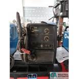 135 AMP RANGE MILLER MODEL MILLERMATIC 135 MIG WELDING POWER SOURCE; S/N LE139444 WITH BUILT-IN