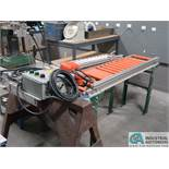 "SECTION 12"" WIDE & (1) SECTION 10"" WIDE FOOT CONTROL POWER CONVEYOR"
