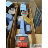 18 VOLT ORGAPACK MODEL OR-T-400 CORDLESS STRAPPING TOOL WITH CHARGER