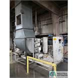 100 HP GARDNER-DENVER MODEL EPB99D11 SKID MOUNTED AIR COMPRESSOR; S/N 5021840