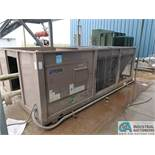 YORK MODEL YCAL0043EE46X AIR COOLED CHILLER; S/N 2GYM017046, R410A (2012)