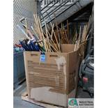 GAYLORDS MISCELLANEOUS BROOMS, SHOVELS AND SQUEEGEES