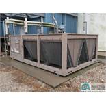 YORK MODEL YCAL0043EE46X AIR COOLED CHILLER; S/N 2GYM017047, R410A (2012)