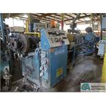 100-MM AMERICAN MAPLAN MODEL TSS100 EXTRUDER; S/N 119478 (NEW 1986), 75 HP MOTOR WITH 75 KVA