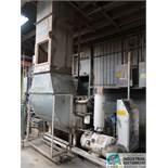 75 HP GARDNER-DENVER MODEL EBM99K SKID MOUNTED AIR COMPRESSOR; S/N 5164933