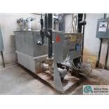 500 GALLON THERMAL CARE PTF500 WATER TANK, (2) 7.5 HP MOTORS, WIHT OVERFLOW TANK