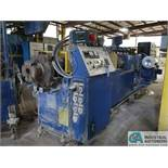 100-MM AMERICAN MAPLAN MODEL TS100 EXTRUDER; S/N 136677 (NEW 1997), 75 HP MOTOR WITH 75 KVA