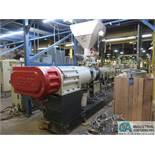93-MM CINCINNATI EXTRUSION MODEL ARGOS 93/28 EXTRUDER; S/N 2053188 (NEW 2005), 115 HP MOTOR