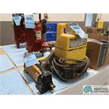 10,000 PSI ENERPAC MODEL PUJ1200B ELECTRIC PENDENT CONTROL HYDRAULIC PUMP WITH ENERPAC MODEL P142