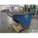 1 YARD PORTABLE DUMP HOPPER