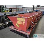 1/2 YARD MECO PORTABLE DUMP HOPPER