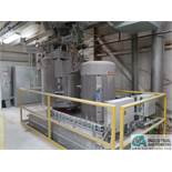 MIXACO TYPE HM1200 HIGH INTENSITY MIXER WITH HCM4200 COOLER; S/N SN140149, 330-KW (440-HP) (NEW