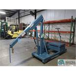 2,000 LB. DAVID ROUND ROGER MODEL HP2000R-PP10SE SHOP CRANE (NEW 2015)