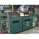 64-MM AMERICAN MAPLAN MODEL DSK64 LEFT HAND FEED CO-EXTRUDER; S/N 132520 (NEW 1995) 50 HP MOTOR