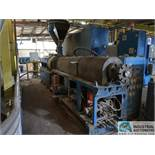 98-MM THEYSON MODEL TTM-98 EXTRUDER; S/N 1026237 (NEW 2000) WITH 87 KW/ 116 HP MOTOR & 300 KVA