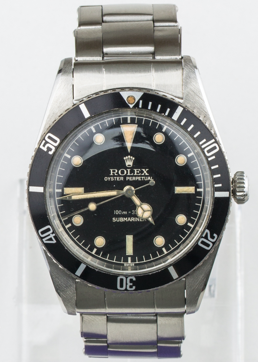 Lot 23 - RARE Rolex Submariner Ref 5508 Original Gilt Mirror Dial