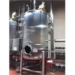Feldmeier 2000 Gallon Vertical Mix Tank