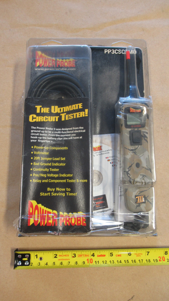 Lot 499 - POWER PROBE lll CIRCUIT TESTER PP3CSCAMO (2 OUT OF PKG)