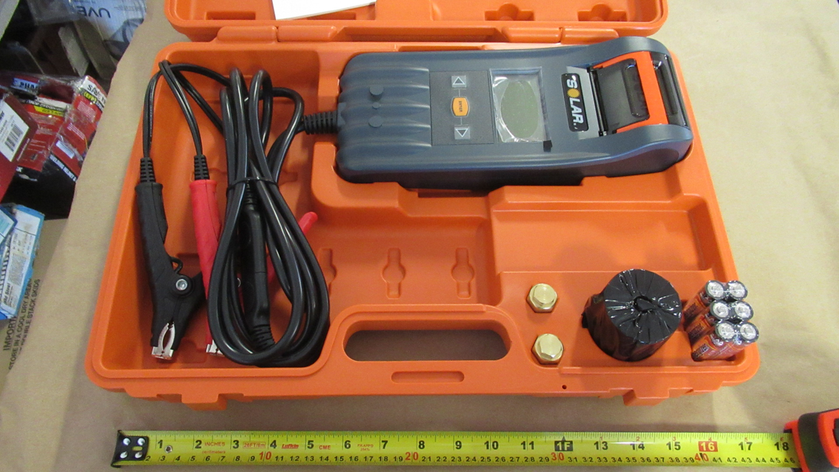 Lot 374 - DIGITAL BATTERY & SYSTEM TESTER SOLAR BA428
