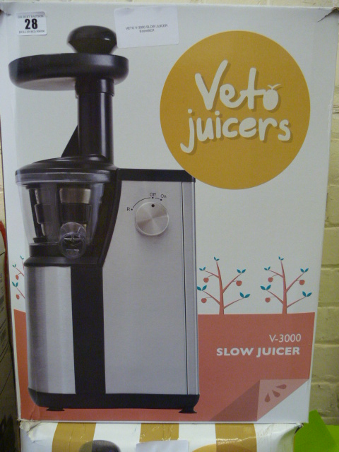 *vETO v-3000 SLOW JUICER