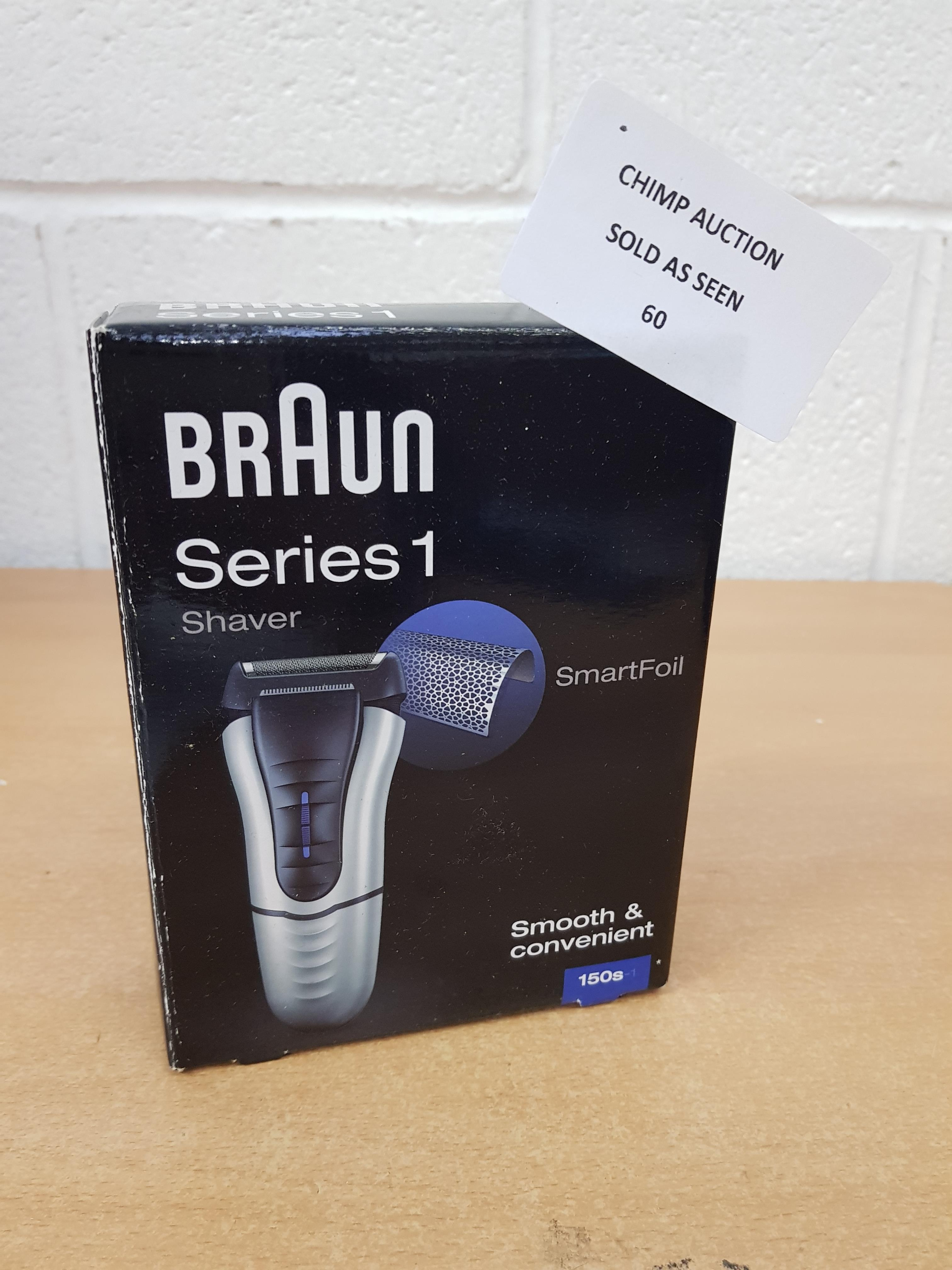 Lot 60 - Braun Series 1 150S SmartFoil Shaver